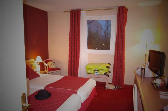 Hôtel Mercure Lyon Charpennes : 酒店的双人间