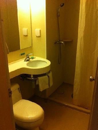 Jinjiang Inn (Wuhan Qushuilou): 浴室