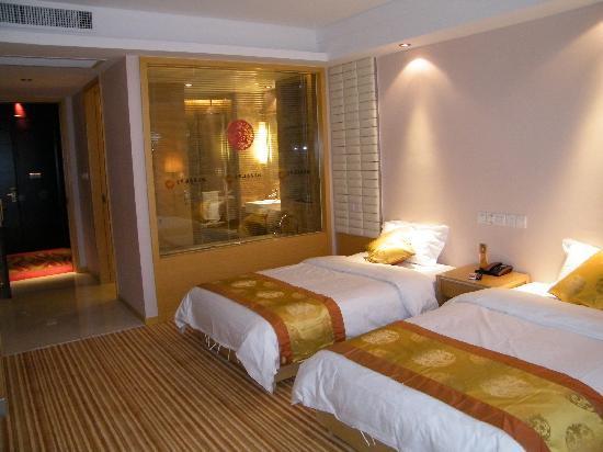 Jinhuanghai Hotel : 这是他们四楼标间