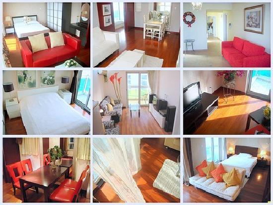 JiaJia Sunshine Apartment Shanghai Xujiahui: 佳佳阳光公寓 万体馆店 公寓套房概览 (实景照片, 各套房略有不同, 仅供参考)