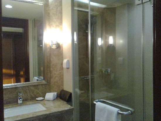 เฝิ่นหยัง การ์เด้น บูติค โฮเต็ล: 浴室只有冲淋,没有浴缸的,我倒不用浴缸 呵呵