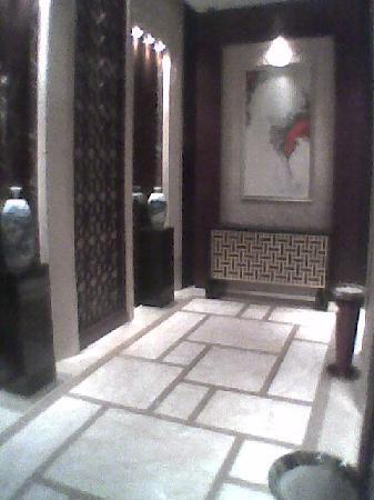 Changjiang International Hotel : 走廊背景墙
