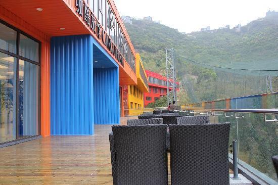 Cargo Hotel Shenzhen: 公共观景休息区