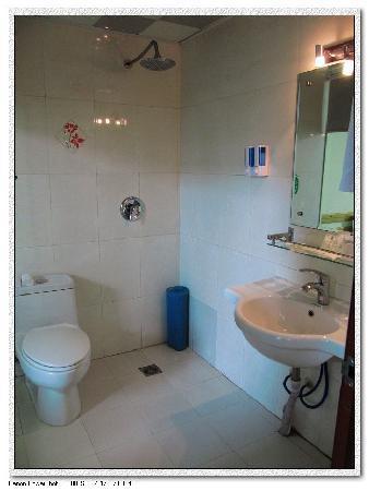 Lvzhou Press Hotel: 卫生间