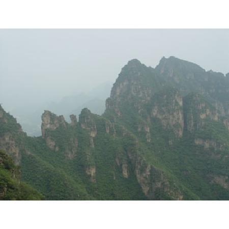 Yi County, China: 狼牙山1