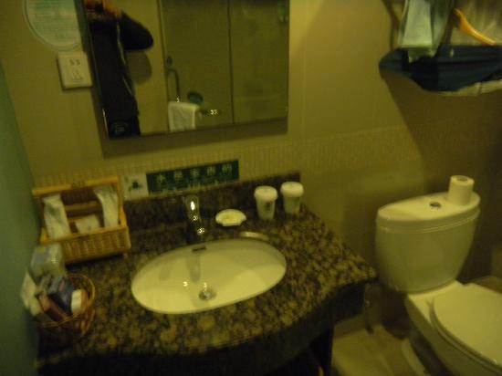 GreenTree Inn Shanghai Century Park Business Hotel : 卫生间