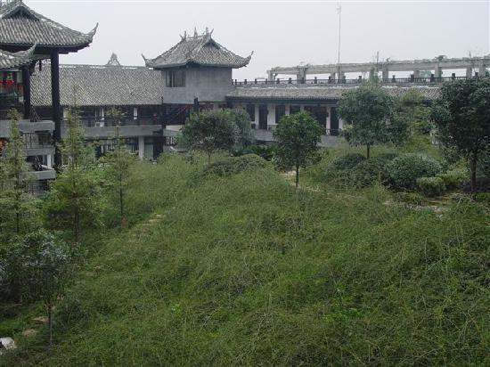 Jinxiucheng Ecotourism Hotel: 艳阳普照