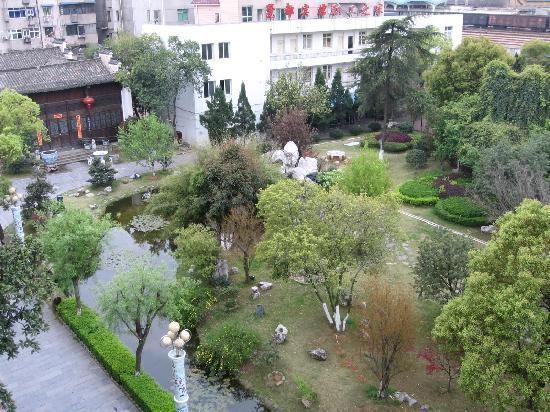 Cidu Hotel: 酒店后花园