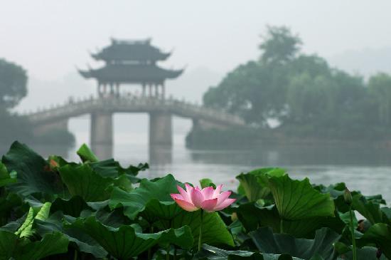 Hangzhou, China: 美丽西湖,淡妆浓抹总相宜