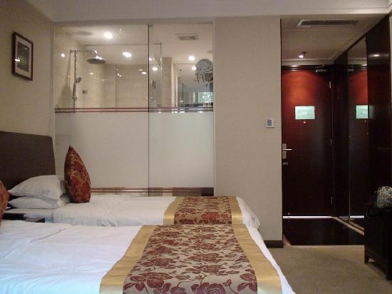 Tiedao Hotel: 客厅里的卫生间