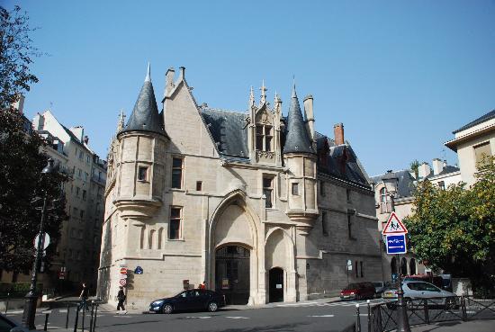 Le Marais: 玛黑区 桑斯公館(Hôtel  de Sens)