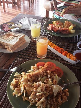Villa Nian: 早餐(非自助)