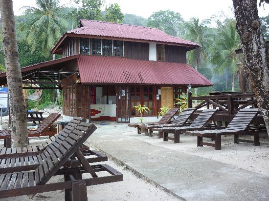 Redang Holiday Beach Villa: 接待处