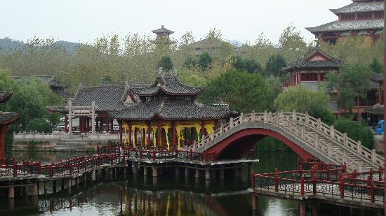 Hengdian Riverside Scene at the Pure Moon Festival