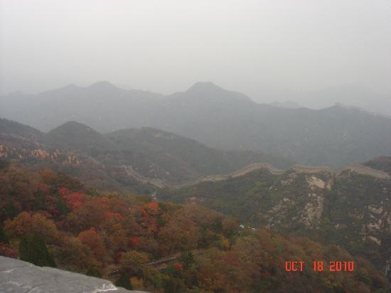 Great Wall Museum: 崎岖绵绵的万里长城