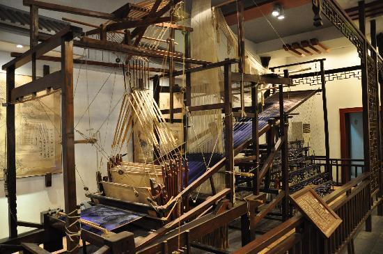 Suzhou Silk Museum: 古老的织布机