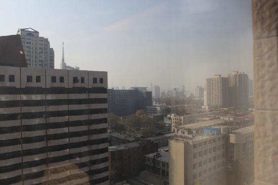 Dahe Jinjiang Hotel: 窗外
