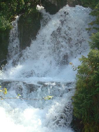 Tianshan Tianchi Lake: 这是其中一个小的瀑布