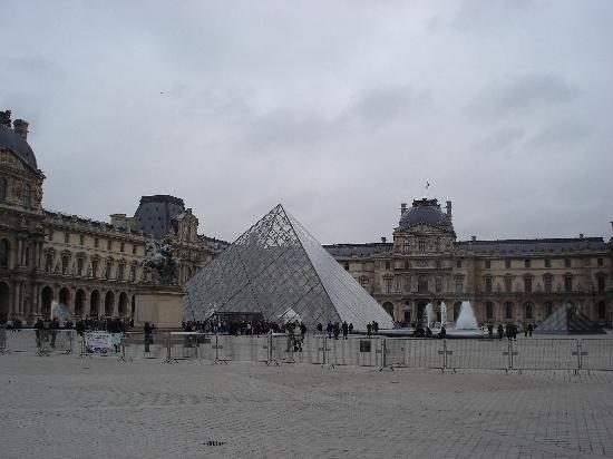 Paris, Prancis: 卢浮宫正门