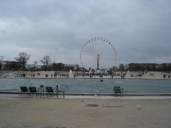 Paris, Prancis: 远望协和广场方尖碑