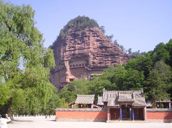 Tianshui China  city images : Maiji Shan Caves Tianshui, China Beoordelingen
