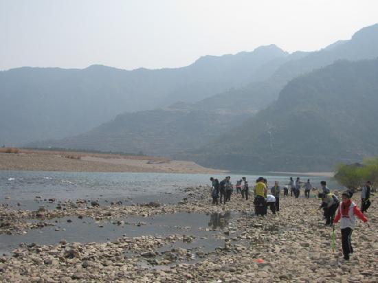 Nanxi River Yanjiang Rural Cultural Zone: 一望无际的楠溪江水