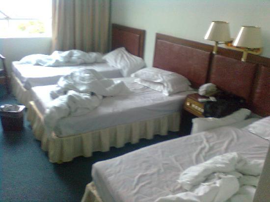 Xinglomg Hot Spring Bihai Hotel: 三人间