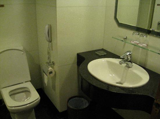 San Diego Hotel Hongkong: 洗手间