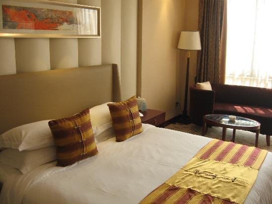 Nanjing Suning Venice Hotel: 宽敞的大床
