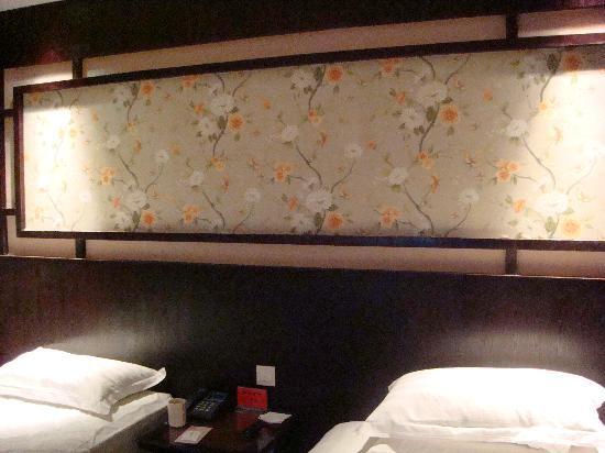Hanting Yilai Hotel Chun'an Qiandao Lake: 床头壁画