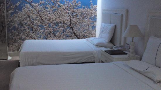 Mei Yi Hotel: 房间环境 这间没有窗 卫生还可以
