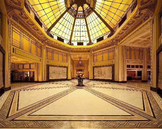 Shanghai Fairmont Peace Hotel Lobby