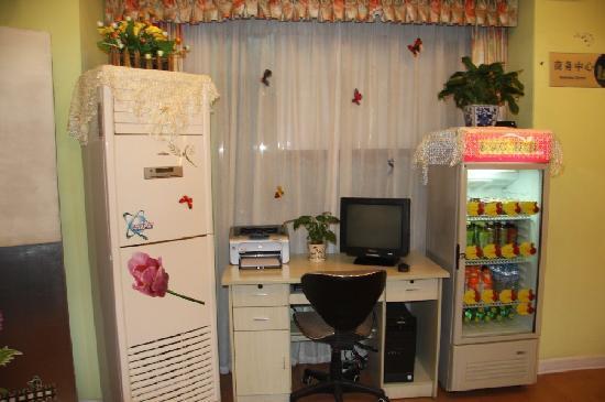 Home Inn Chongqing Exhibition Cente: 大堂一角