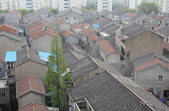 Jinjiang Inn Changzhou Olympic Centre: 窗外的景色哦