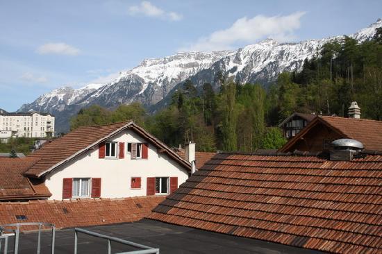 Heidi's Hostel: 二楼房间景观