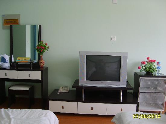 Haitian Yise Center Lianyungang Liandao Golden Coast Resort: 房间内部