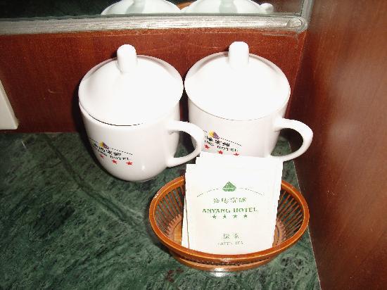 Anyang Hotel: 茶杯