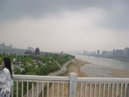 Changsha County, China: 橘子洲大桥