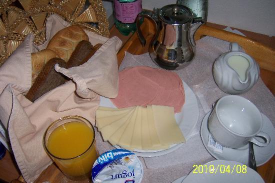 Villa Troya: 早餐