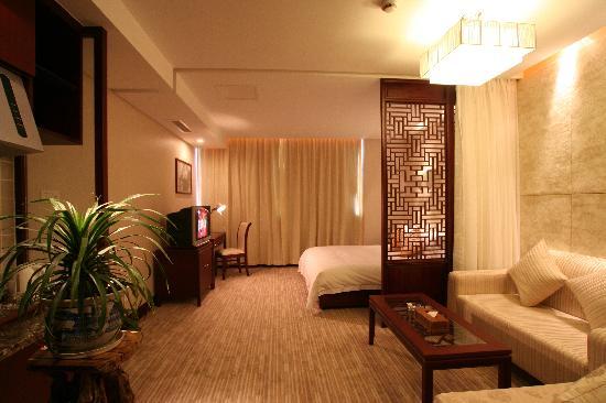 Scholars Hotel (Suzhou New District): 酒店会所大床房