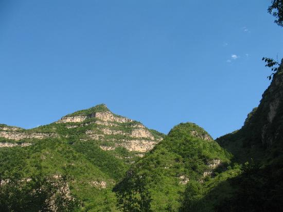Laishui County, China: 遥望青山