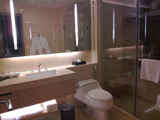 Crowne Plaza Hotel Hong Kong Causeway Bay: 漂亮,设施齐全的洗手间