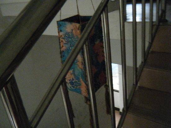 Youjian Hostel: 楼梯