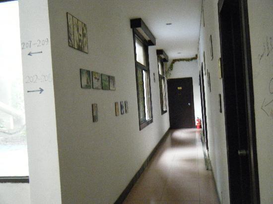 Youjian Hostel: 走廊