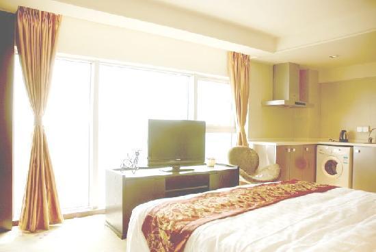 Xinqing Apartment Hotel Chengdu Xinian: 观景房