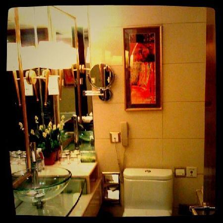 Enjoyable Stars Hotel : 洗手间还不错,比较亮堂。