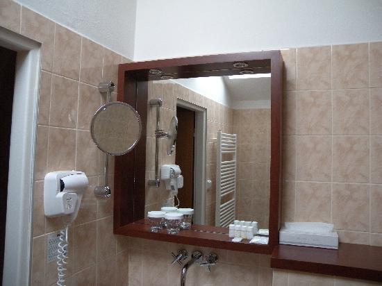 Grandhotel Brno: 卫生间