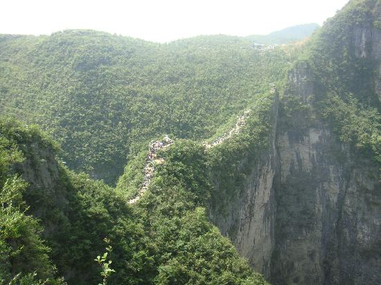 Yunyang Longgang Geological Park: DSC05669