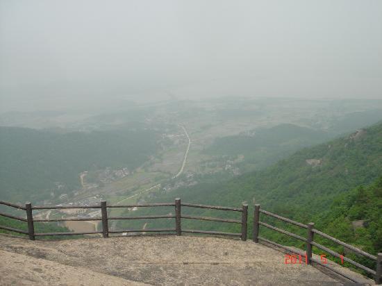 Longmian Mountain: 三生石俯瞰