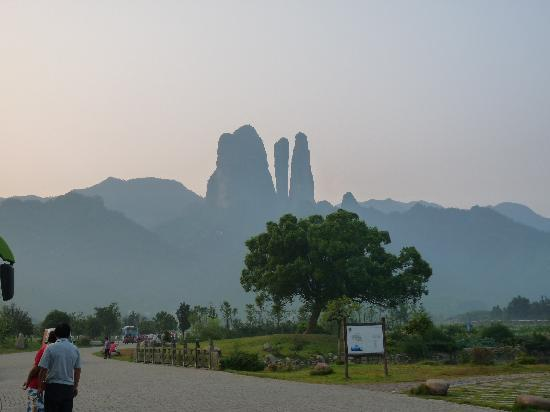 Jianglang Mountain of Jiangshan